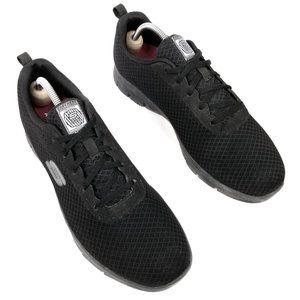 Sketchers Women's Non-Slip Black Work Shoes 10